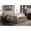 Wholesale Interiors Baxton Studio Regata Upholstered Platform Bed