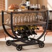 Wholesale Interiors Baxton Studio 10 Bottle Wine Rack