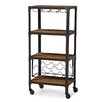 Wholesale Interiors Baxton Studio Swanson 6 Bottle Floor Wine Rack