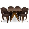 Wholesale Interiors Baxton Studio Lucas 7 Piece Dining Set