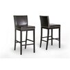 "Wholesale Interiors Baxton Studio Graymoor 30.75"" Bar Stool with Cushion (Set of 2)"