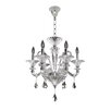 Allegri by Kalco Lighting Chauvet 6 Light Crystal Chandelier