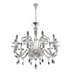 Allegri by Kalco Lighting Chauvet 10 Light Crystal Chandelier