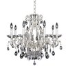 Allegri by Kalco Lighting Rossi 10 Light Crystal Chandelier