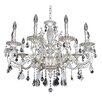 Allegri by Kalco Lighting Casella 10 Light Crystal Chandelier