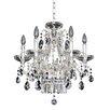 Allegri by Kalco Lighting Rossi 6 Light Crystal Chandelier