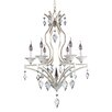 Allegri by Kalco Lighting Florence 6 Light Crystal Chandelier