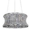 Allegri by Kalco Lighting Corsette 12 Light Drum Pendant