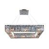 Allegri by Kalco Lighting Quadro 12 Light Crystal Pendant