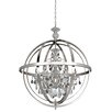 Allegri by Kalco Lighting Catel 6 Light Crystal Chandelier