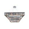 Allegri by Kalco Lighting Quadro 36 Light Crystal Pendant