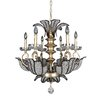 Allegri by Kalco Lighting Tiepolo 6 Light Crystal Chandelier