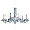 Allegri by Kalco Lighting Fanshawe 9 Light Crystal Chandelier