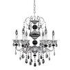 Allegri by Kalco Lighting Faure 6 Light Crystal Chandelier
