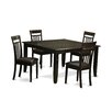 East West Furniture Parfait 5 Piece Dinning Set