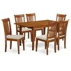 East West Furniture Picasso 7 Piece Dining Set