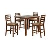 Wooden Importers Café 5 Piece Counter Height Dining Set