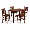 Wooden Importers Buckland 5 Piece Counter Height Dining Set