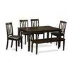 Wooden Importers Capri 6 Piece Dining Set