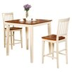 Wooden Importers Vernon 3 Piece Counter Height Dining Set