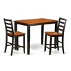 Wooden Importers Yarmouth 3 Piece Counter Height Pub Table Set