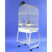 A&E Cage Co. Dome Top Bird Cage with Plastic Base and Stand