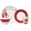 222 Fifth Floral Dot 16 Piece Dinnerware Set