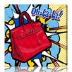 Oliver Gal Burst Creative Oh La La Graphic Art on Wrapped Canvas