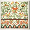 Oliver Gal Burst Creative Ornamental Pattern 1867 Graphic Art on Wrapped Canvas