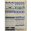 Oliver Gal Burst Creative Ornaments 1867 Plate XXI Graphic Art on Wrapped Canvas