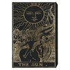 Oliver Gal The Art Cabinet The Sun Tarot Graphic Art on Wrapped Canvas