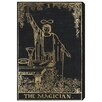 Oliver Gal The Art Cabinet The Magician Tarot Graphic Art on Wrapped Canvas