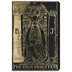 Oliver Gal The Art Cabinet The High Priestess Tarot Graphic Art on Wrapped Canvas