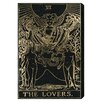 Oliver Gal The Art Cabinet There Lovers Tarot Graphic Art on Wrapped Canvas