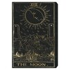 Oliver Gal The Art Cabinet The Moon Tarot Painting Print on Wrapped Canvas