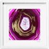 Oliver Gal Oliver Gal Pinklove Geo Framed Painting Print
