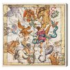 Oliver Gal The Art Cabinet Sagittarius and Scorpius Graphic Art on Wrapped Canvas
