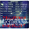 Oliver Gal Burst Creative Explore the World Textual Art on Wrapped Canvas