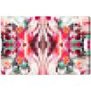 Oliver Gal Burst Creative Akkadian Graphic Art on Wrapped Canvas