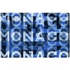 Oliver Gal LAB Creative Monaco Graphic Art on Wrapped Canvas