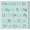 """Oliver Gal """"ABCs"""" by Olivia's Easel Canvas Art"""