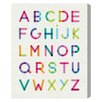 "Oliver Gal ""Modern ABCs"" by Olivia's Easel Canvas Art"