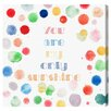 Oliver Gal My Only Sunshine by Olivia's Easel Canvas Art