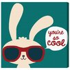 """Oliver Gal """"You're So Cool"""" by Olivia's Easel Canvas Art"""