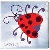 "Oliver Gal ""Moustache Ladybug"" by Olivia's Easel Canvas Art"