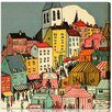 "Oliver Gal ""Little Town"" by Olivia's Easel Canvas Art"