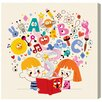 Oliver Gal Read & Learn by Olivia's Easel Canvas Art