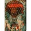 "Oliver Gal ""Ballon Godard 1865"" by Olivia's Easel Canvas Art"