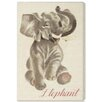 """Oliver Gal """"Elephant"""" by Olivia's Easel Canvas Art"""