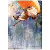 """Oliver Gal """"Harry Rountree Fishing"""" by Olivia's Easel Canvas Art"""